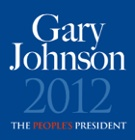 Gary Johnson  Libertarian    Check out his website for information about his libertarian position.    #Kidscampaign #campaign2012  #homeschool