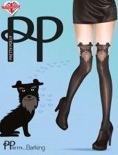 Puppy Suspender met honden snuit
