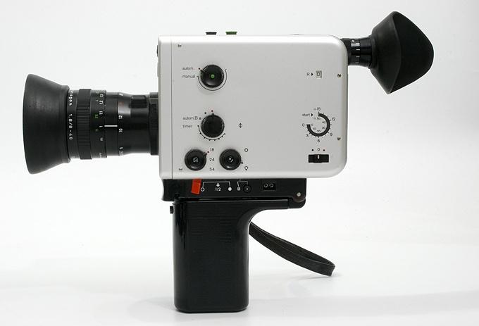 Braun NIZO 481 macro Super8 Movie Camera