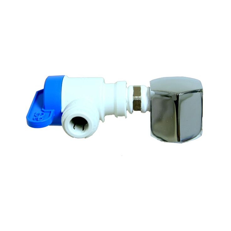 Tank Ball Valve - 3/4 in. Nptf 3/8 in. Output for Reverse Osmosis Storage Tank