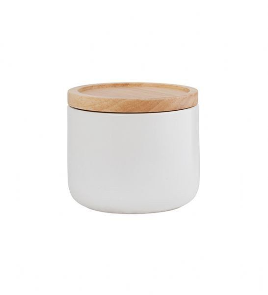 White Canister - Small