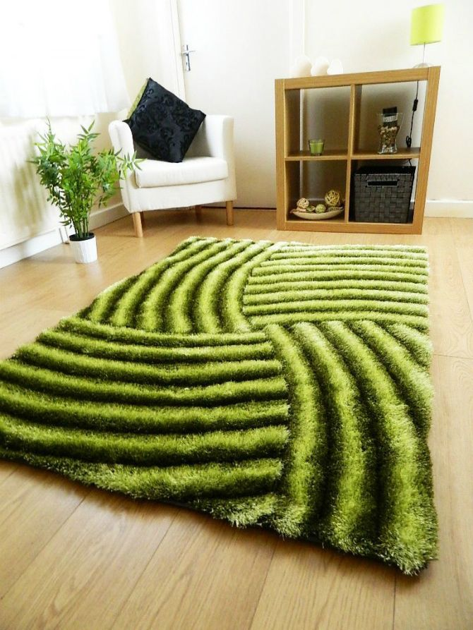Green Rug: A Warm Garden In Your Living Room!