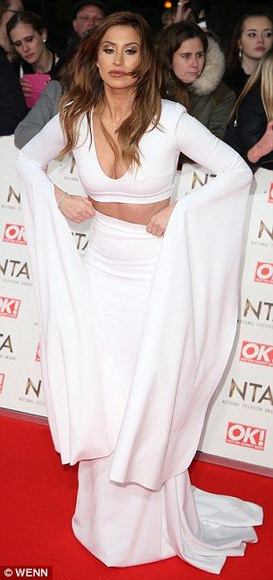 TOWIE's Kate Wright, Chloe Sims and Megan McKenna wear red to NTAs