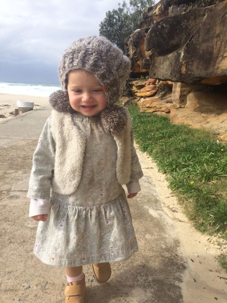 perfect winter out fit. dress from printebebe and desert boots poppeto