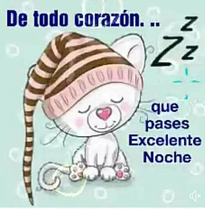 De todo corazón buenas noches