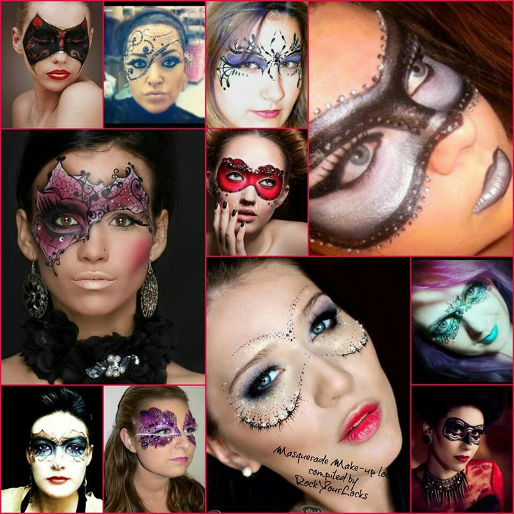 29 best Beauty - Costume Makeup images on Pinterest   Make up ...