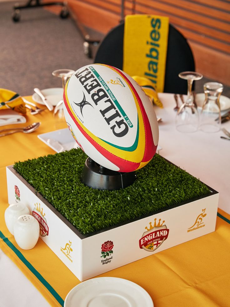 Centerpiece and Table Centres for Sporting Events by Moreton Hire Australia