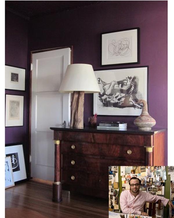 1000 Ideas About Dark Purple Walls On Pinterest Plum