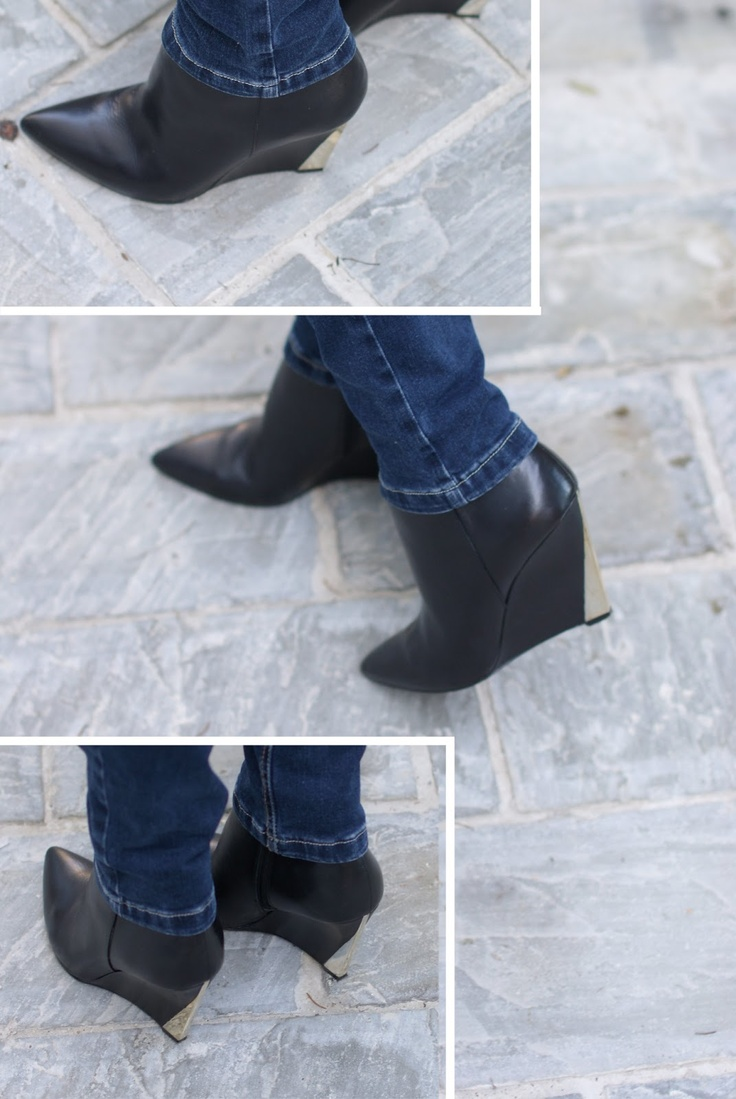 Guess by Marciano wedge ankle boots