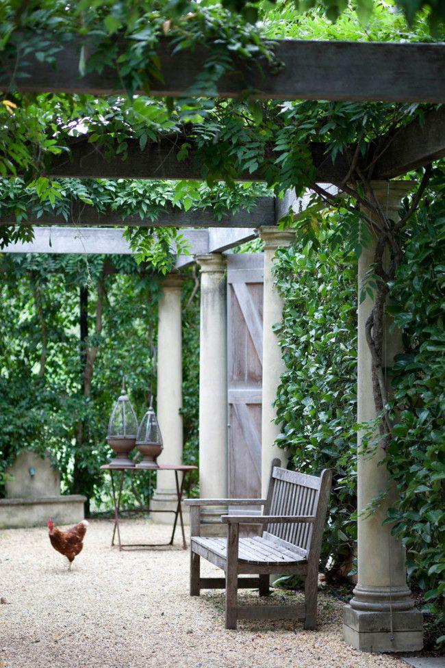 901 best images about garden back yard front porch patio for Arboles de sombra para jardin