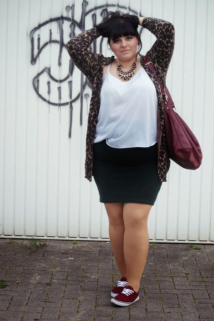 CONQUORE · The Fatshion Café | Fashion Plus Size Blog: Indian Gammler · stylish plus size camo cardigan