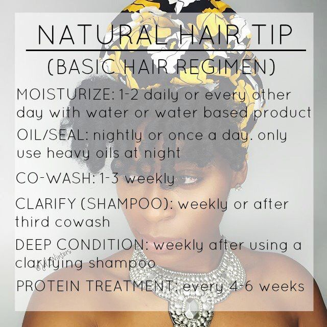 Natural hair - I cowash once a week and shampoo once a week