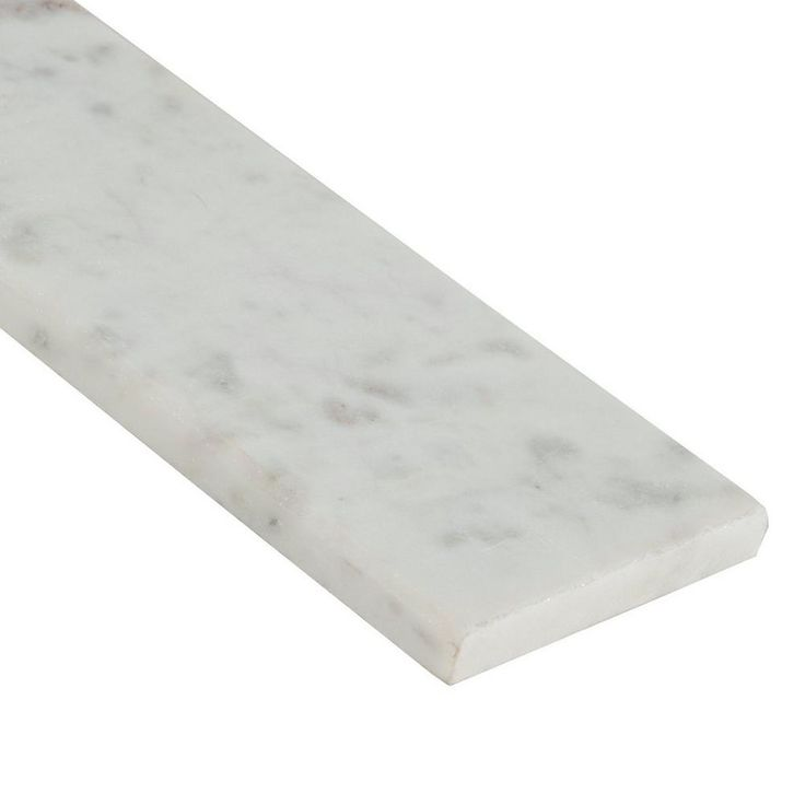 Carrara White Marble Threshold - 4in. x 36in. - 100224179 | Floor and Decor