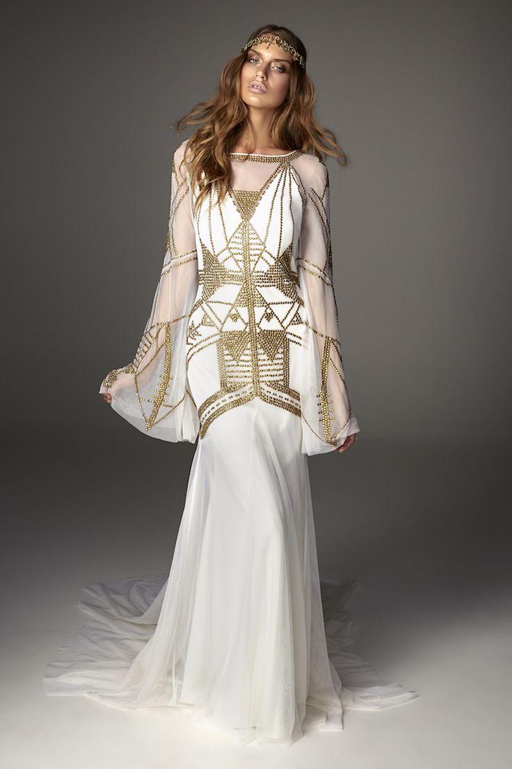 Mickah Gown #ruedeseine #lovespell