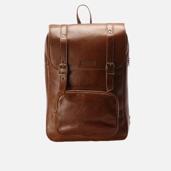 Burgundy - Laptop Backpack