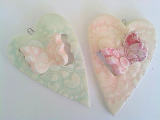 ceramic handmade ornaments