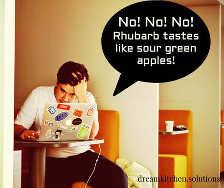 What Does Rhubarb Taste Like? And Other Questions � Dream Kitchen Solutions