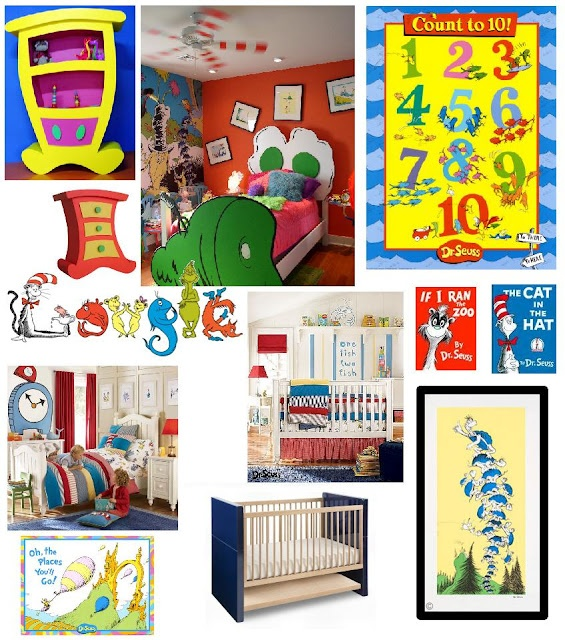 Dr Seuss Inspiration Board Decor Ideas By Design Dazzle