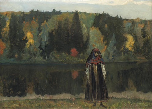 The Abandoned, 1923, Mikhail Vasil'evich Nesterov. Russin (1862 - 1942)