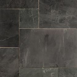 Roterra Slate Tiles - Versailles Pattern Indian Black / Versailles Pattern 2.19