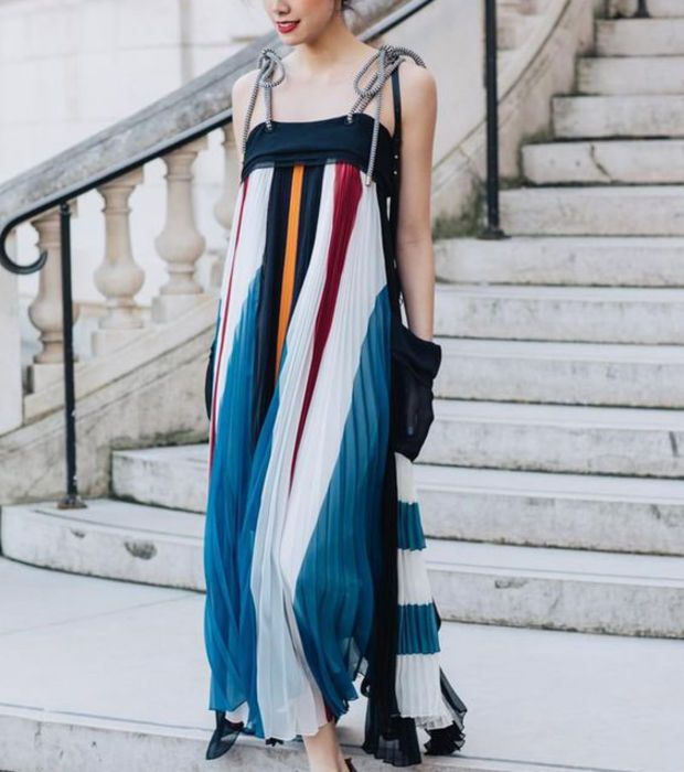 And Less MUSK DRESS - Robe longue - mood indigo Vente Footlocker Finishline Mieux En Ligne À La Recherche De La Vente En Ligne Achat De Dédouanement Prédédouanement Ordre go5LO6F