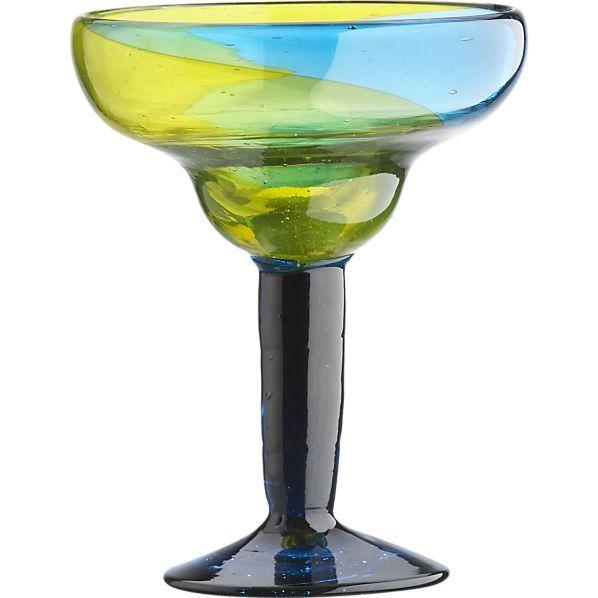 Salud Margarita Glass in Margarita Glasses | Crate and Barrel #bicmarkit