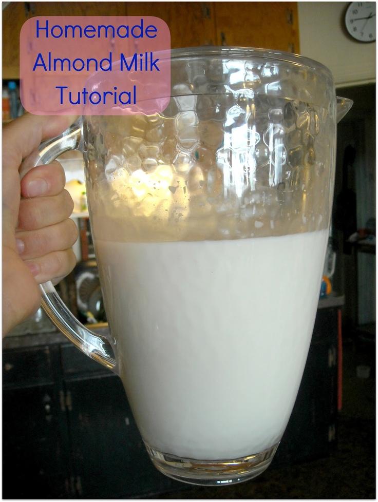 The Crunchy Farm Baby: Tutorial Tuesday: Homemade Almond Milk