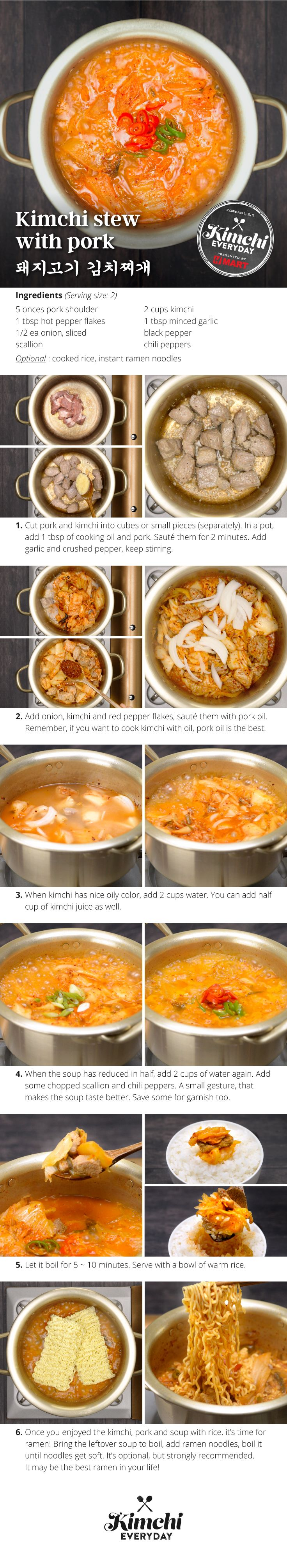 Hmart presents: How to make delicious Kimchi Stew with Pork