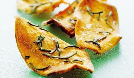 Chips oppskrift, søte potetchips | I FORM