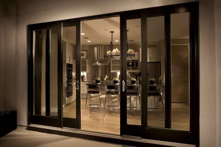 Fiberglass sliding patio doors 2 3 or 4 panel for Sliding glass doors that look like french doors