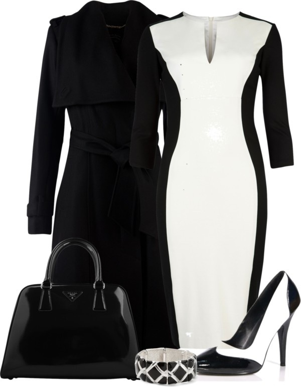 """Black and White Contest"" by denise-schmeltzer on Polyvore"