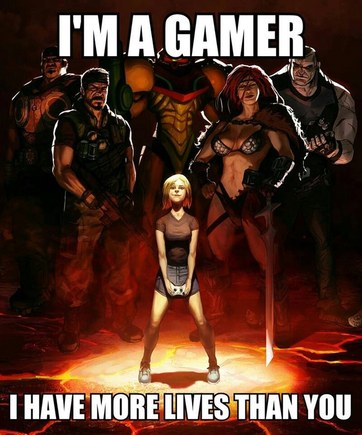 """People who tell gamers in general to """"get a life"""" don't know what they're talking about."""