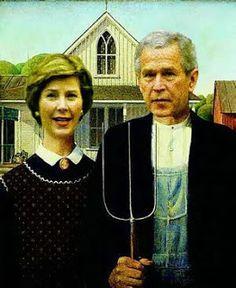 American Gothic Parodies on Pinterest | 141 Pins