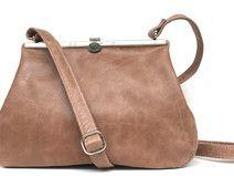 Ledertasche braun, Handtasche braunes Leder