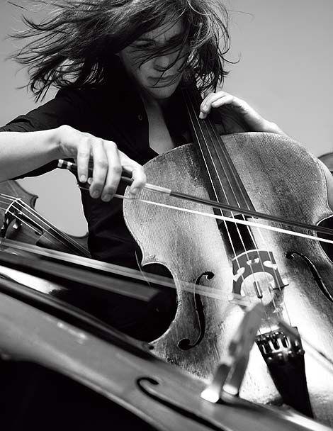 Cello / Sonia Wieder-Atherton by JB Mondeno