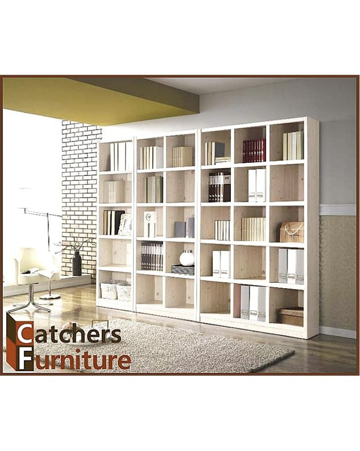 100% Pre-assembled Bookcase - Wash Type C