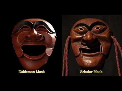 "Resembling the Expressions of Koreans, Mask Dance.. ""movie-click"""