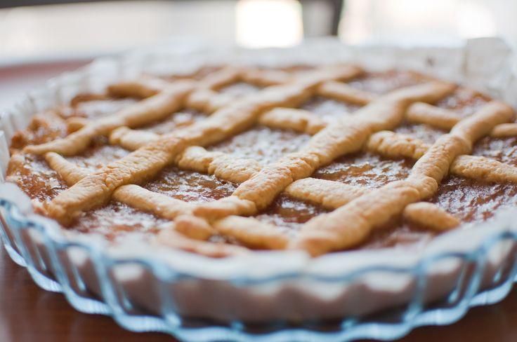 Fig Tart recipe. #recipe #fig #tart #sweet #pie #recette #ricetta #sicily #sicilainfood #jam #fruit #confiture