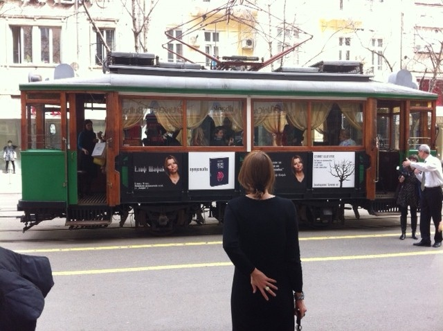 "A ""Literature Tram"" in Sofia..."