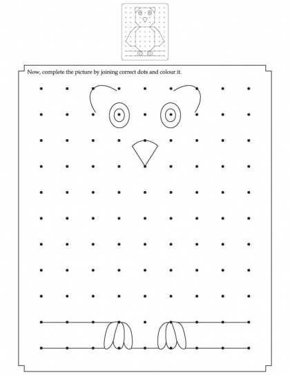 Complete the picture by joining the correct dots | Download Free Complete the…