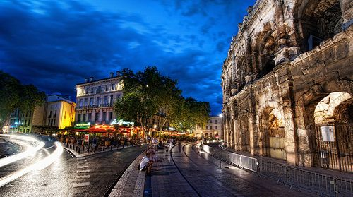 Nimes+-+This+Roman+town+is+known+for+its+splendid+architecture+and+numerous+artifacts,+which+reveal+arich+history.