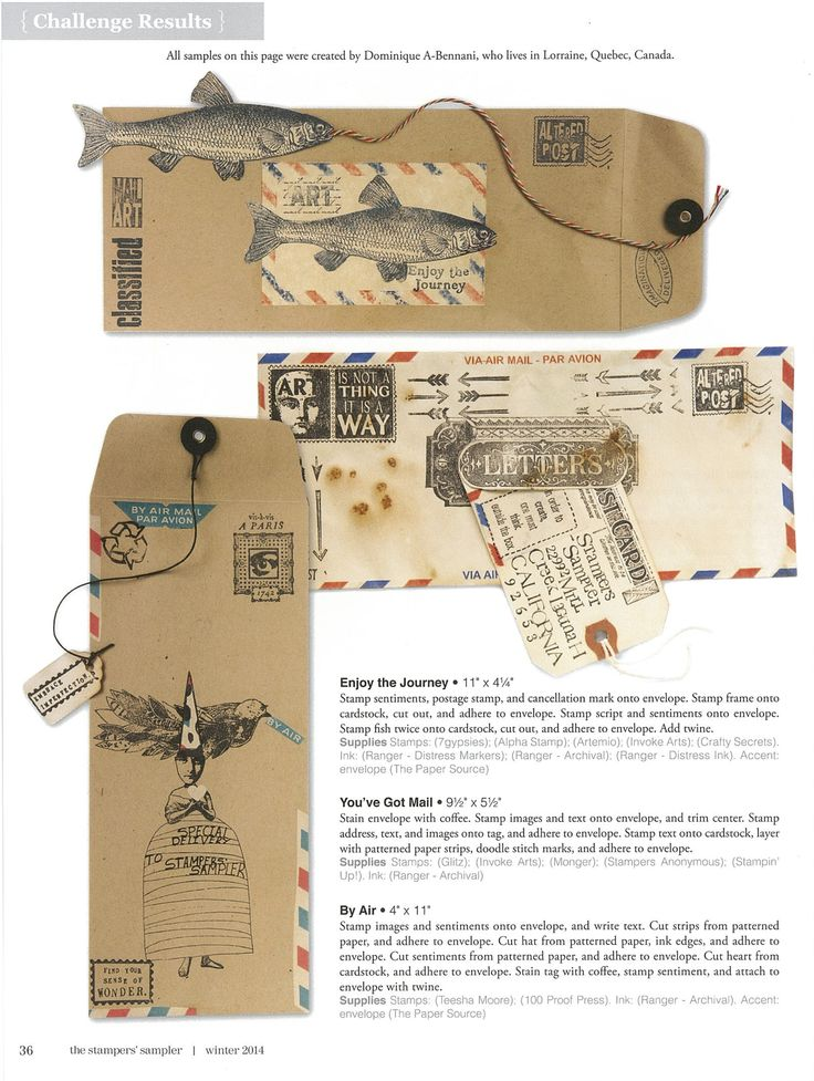 955 best Envelopes \ Awesome Mail images on Pinterest Mail posts - new letter envelope address format canada