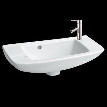 Wall Mount Sinks Small Square White Vitreous Wall Mount Sink Narrow Bathroomtiny