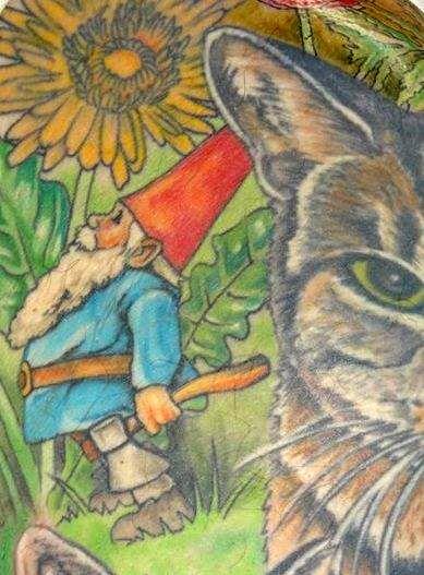 Oscar the Cat (Fiona Long on me, 2012)