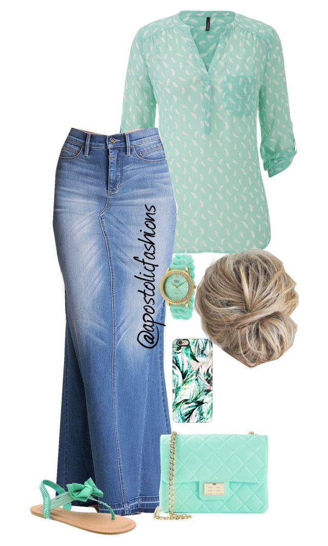 """Apostolic Fashions #801"" by apostolicfashions ❤ liked on Polyvore featuring maurices, Casetify, Bebe, Design Inverso, TKO Orlogi and Pierre Dumas"