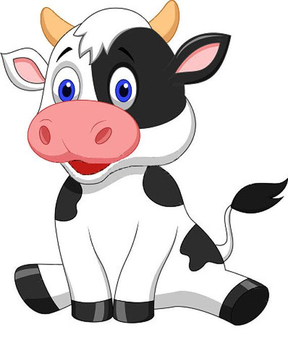 """Cute Baby Cow Cross Stitch Pattern***L@@K*** YOUR FINISHED PATTERN SIZE. 306 Stitches X 360 Stitches 17.0"""" X 20.0"""" ON (18 COUNT) AIDA CLOTH. I SEND WORLD-WIDE ~~Free"""
