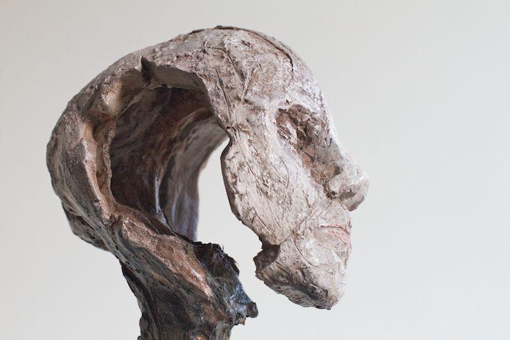 Lasse Nissilä: Träumerei (Dreaming), 2013. Concrete. 34 x 17 x 10 cm.