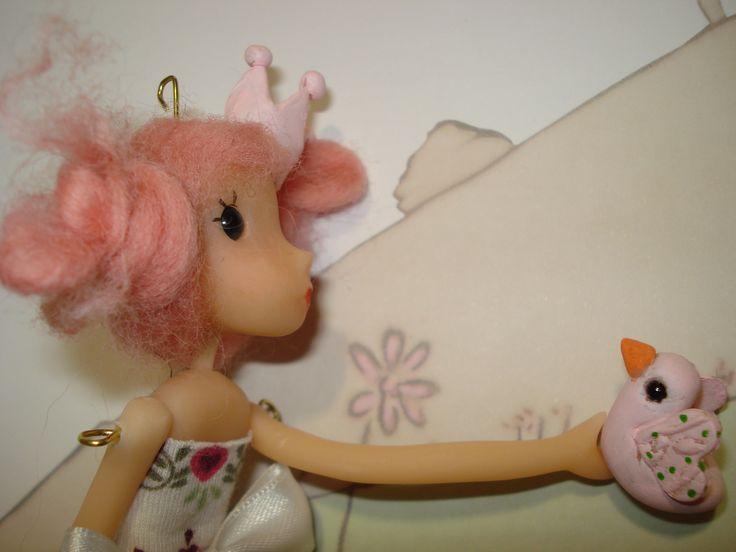 muñeca porcelana fria