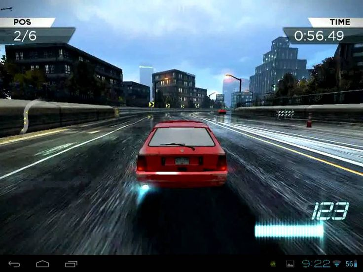 NFS Most Wanted HP Touchpad (+playlist)