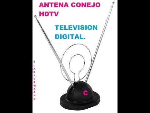 ANTENA CASERA HD en 1 minuto - YouTube